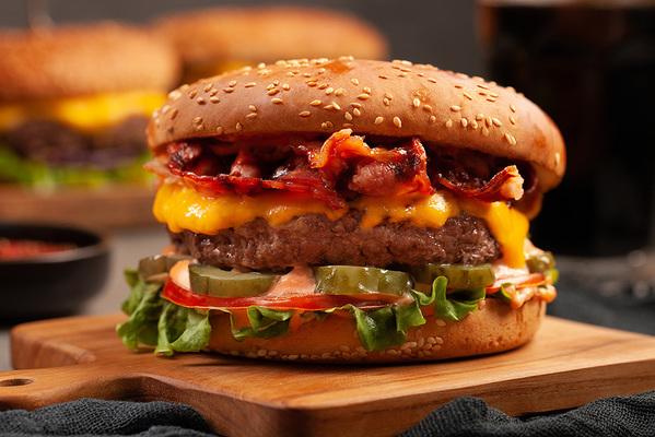 Барбекю гамбургер
