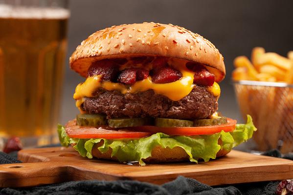 Баварский гамбургер